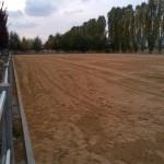 Il campo in sabbia